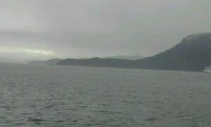 高速艇で小豆島へ